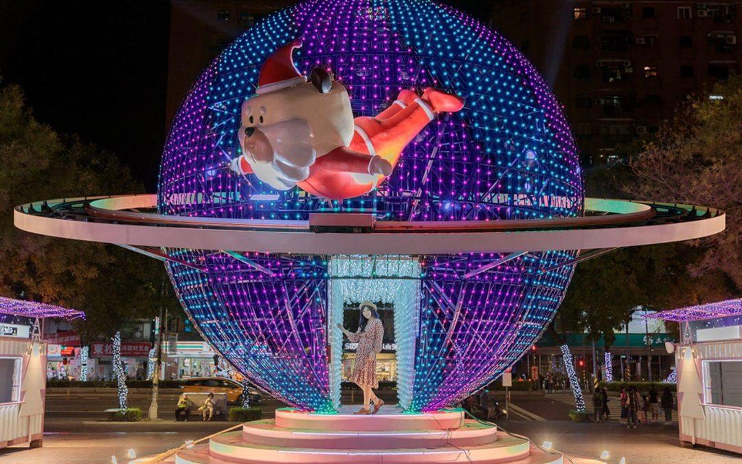 跟著PRO360專家,帶你發現2018新北耶誕城超好拍燈景