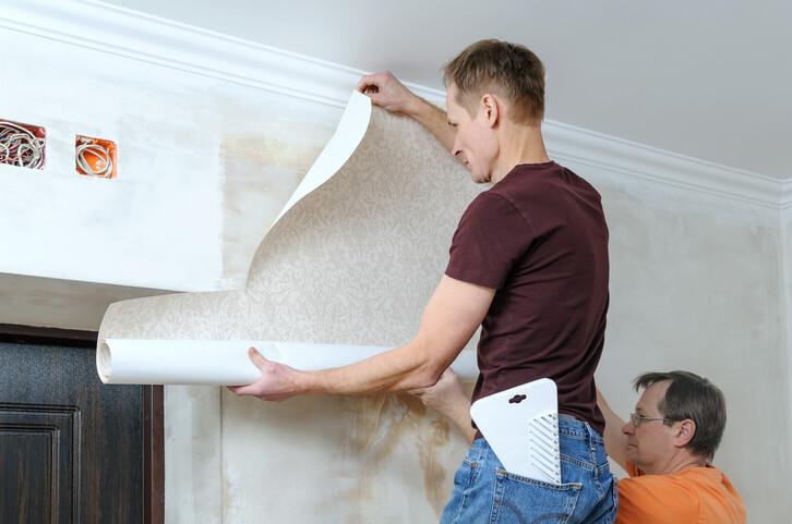 替牆壁換上新壁紙,讓家中輕鬆搖身一變擁有新風格。